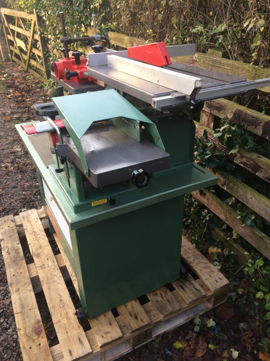 Simple Kity BestCombi Planer Thicknesser Saw Bench Spindle