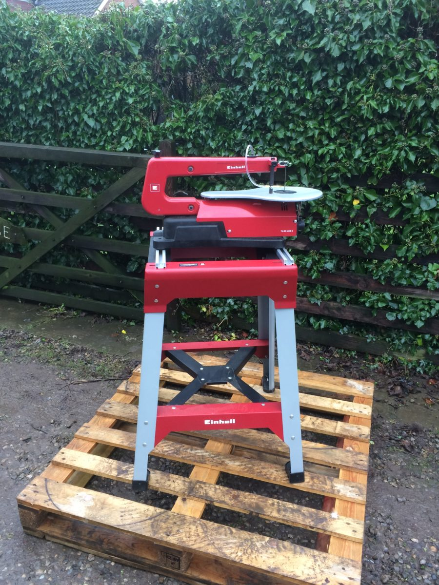 ... SS 405E Scroll Saw C/W Table Very Good Condition - Black Dog Machinery