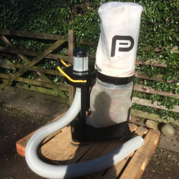 Performance Pro Portable Dust Extractor - Black Dog Machinery