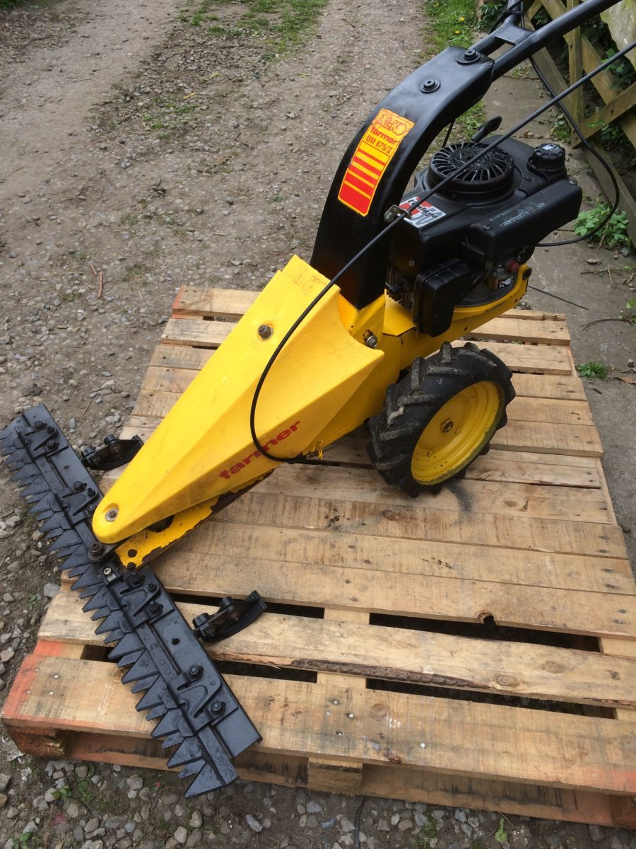 ... Allen Scythe Sickle Bar Mower Good Working Order - Black Dog Machinery