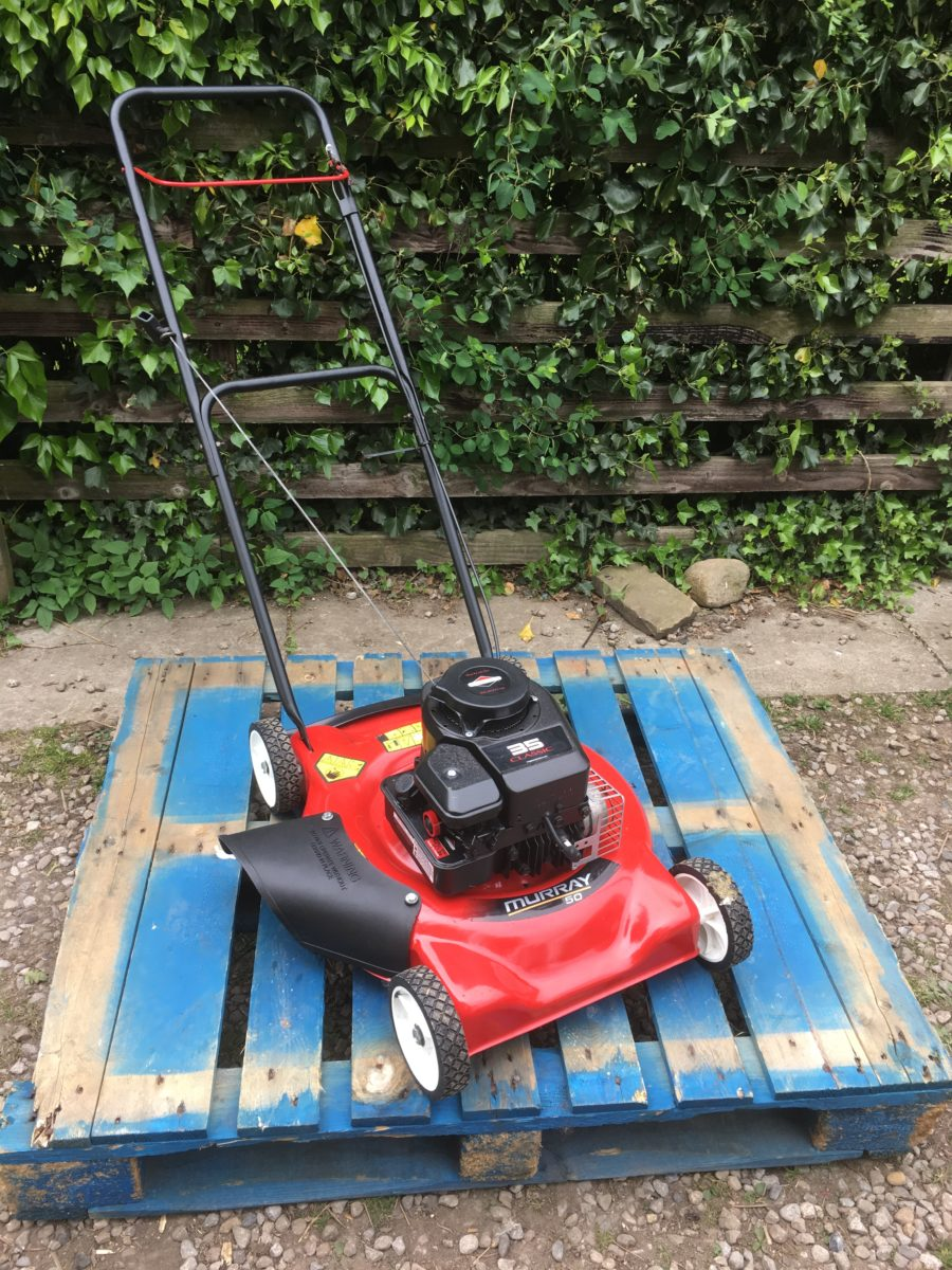 Murray 20 Push Mower : Murray ″ side discharge petrol lawn mower good working